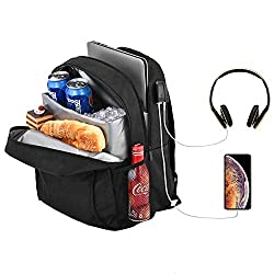 5 Work Backpacks with Lunch Compartment